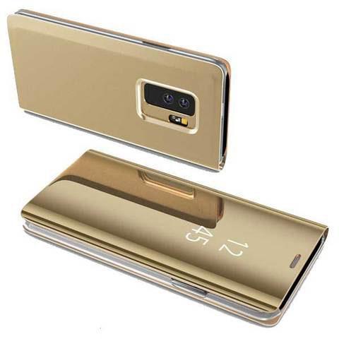 Etui Tactile 3-en-1 pour smartphone raton-malin Doré Redmi Note 5A
