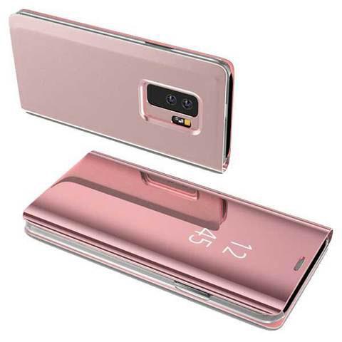 Etui Tactile 3-en-1 pour smartphone raton-malin Rose doré Redmi Note 5A