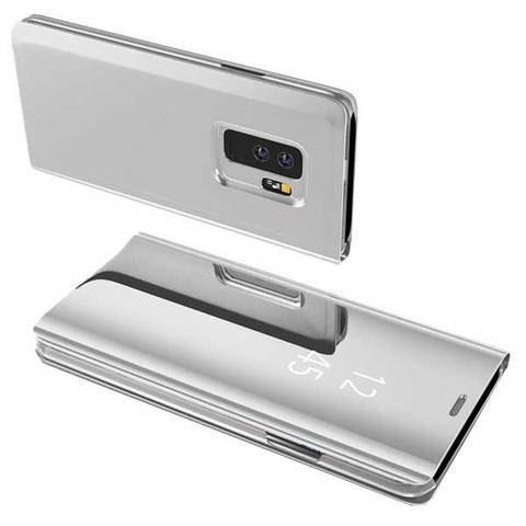 Etui Tactile 3-en-1 pour smartphone raton-malin Argenté Redmi Note 5A