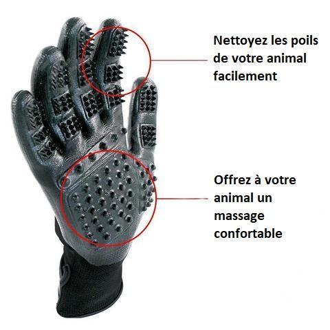 gant1 large 64dc71d5 2709 40f2 bd2a 26400d408c9e Paire De Gants De Toilettage Hirundo Pour Chats, Chiens Et Chevaux