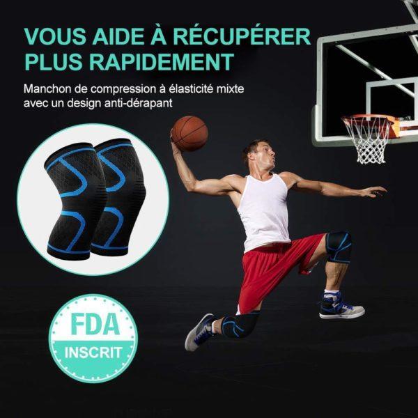 genouillere rotulienne sport Genouillère Rotulienne, La Meilleure Protection Pour Ses Genoux