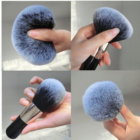 grospinceaumaquillagepoudre Le Gros Pinceau De Maquillage Pour Poudre À Adopter Pour Votre Makeup