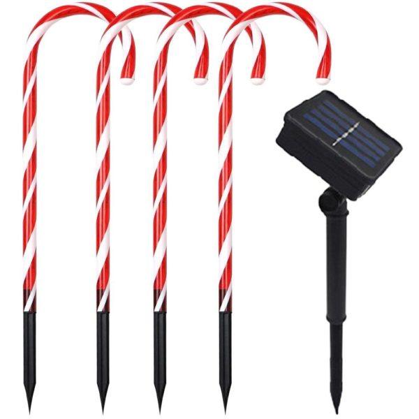 guirlandesolaireexterieur 2 8ac99533 dab3 4ed2 9e7d ff5463e8bc39 Guirlande Sucres D'orge Lumineuse De Noël (Lot De 4)