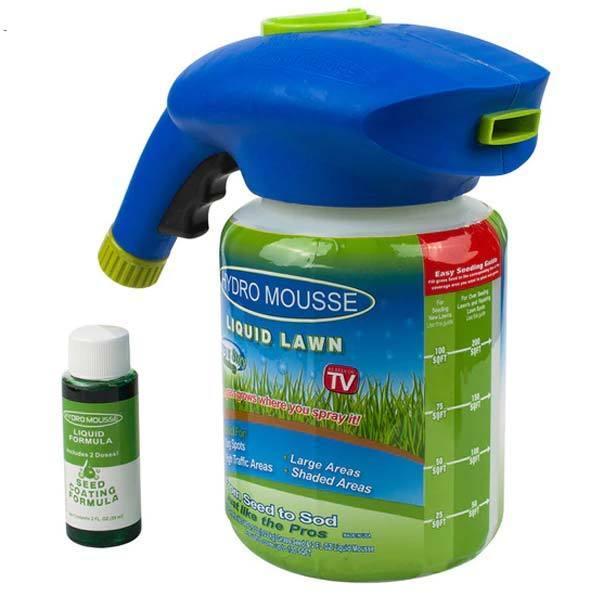 Liquide Pulvérisateur De Semences à Gazon Raton Malin Pack Hydro Mousse