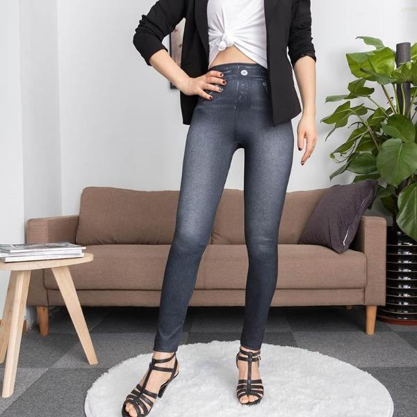 jeanpushup Le Legging Jean Silhouette Parfaite