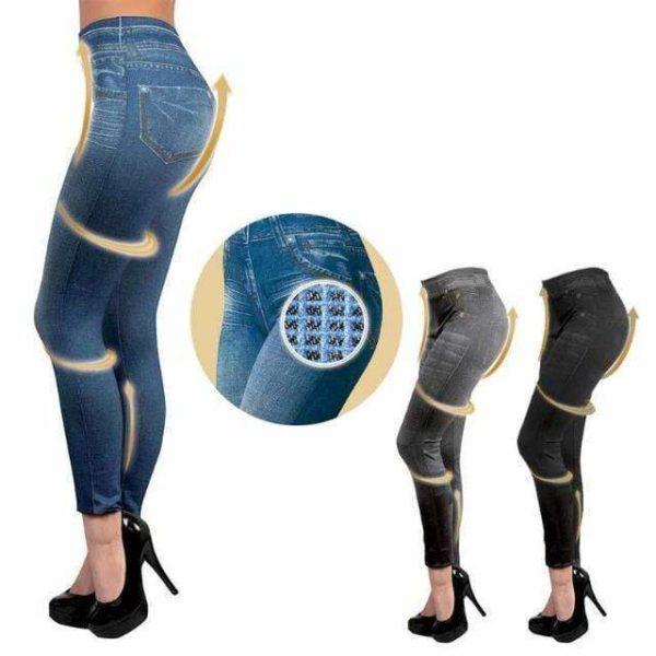 jeansamincissant Le Legging Jean Silhouette Parfaite
