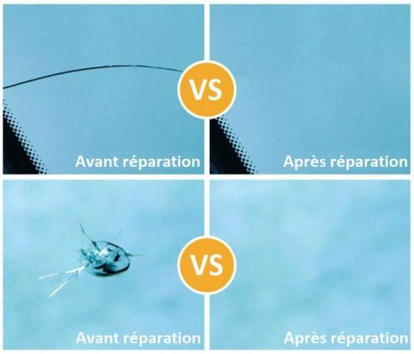 kig1 Kit De Réparation De Vitre Et Pare-Brise