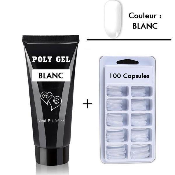 kit blanc 800x a29d4357 b2b8 4727 869b d7f0659a871b Kit D'ongles - Polygel