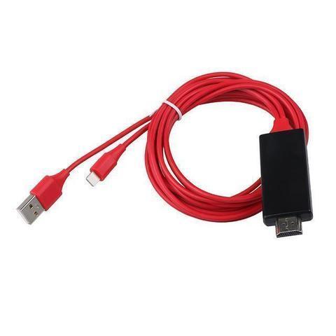 l1 large f7a968e5 dc78 414f 9074 d7ed1f2d7301 Câble Tv Hdmi - Iphone - Ipad