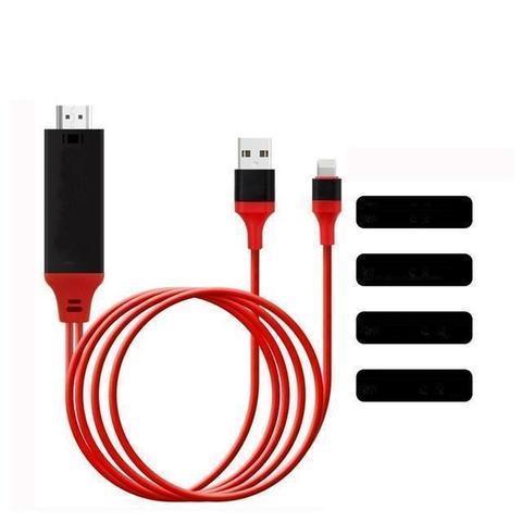 Câble TV HDMI - Iphone - Ipad raton-malin