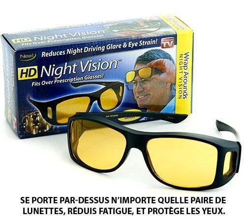 l9 Lunettes Pour Vision Nocturne Conduite En Toute Sécurité