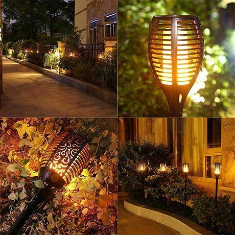 lamp2 Lanterne Solaire Avec Flamme Vacillante