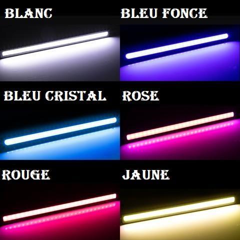 led4 Bandes De Lumière Led Pour Voiture (Lot De 2)