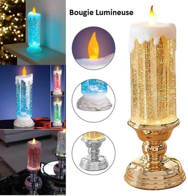 light1 Bougie Led Rechargeable - Décoration De Noël