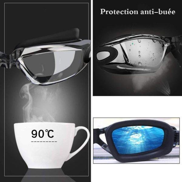 lunette de natation anti buee Lunette De Natation, Le Meilleur Moyen D'obtenir Une Vision Claire Sous L'eau