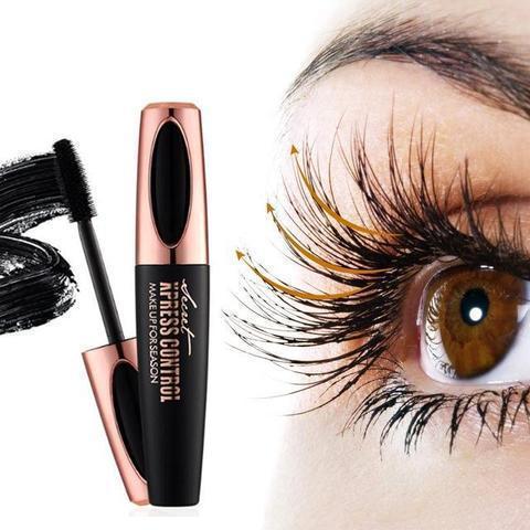 m1 Mascara Pour Cils En Fibre De Soie 4D