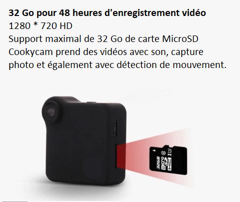 m92 Mini Caméra Ip Sans Fil