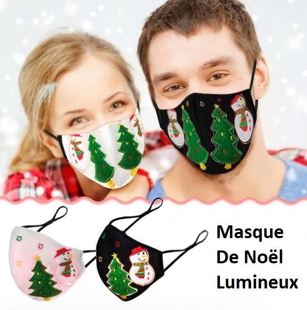 mas2 Masque De Noël Lumineux