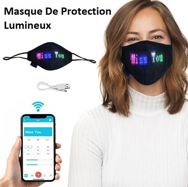 mask1 Masque De Protection Lumineux