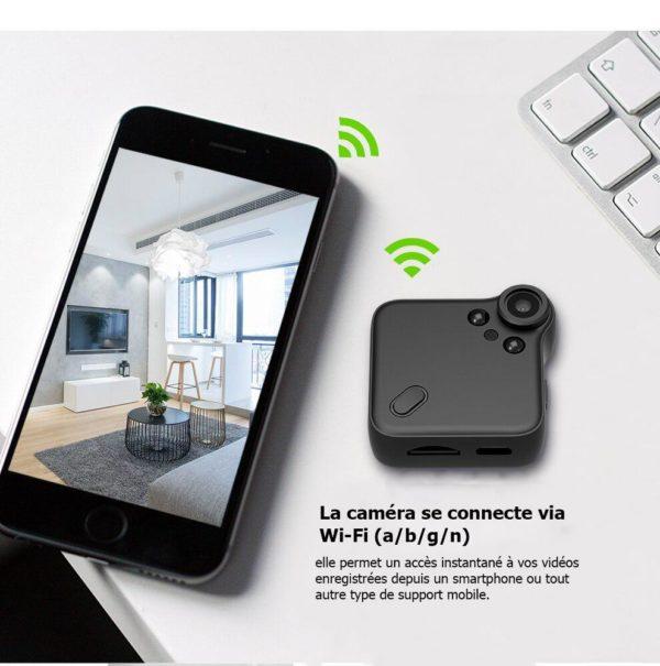 mini camera full hd 1080p Mini Caméra Wifi, La Meilleure Mini Caméra De Surveillance Wifi Disponible En Ligne