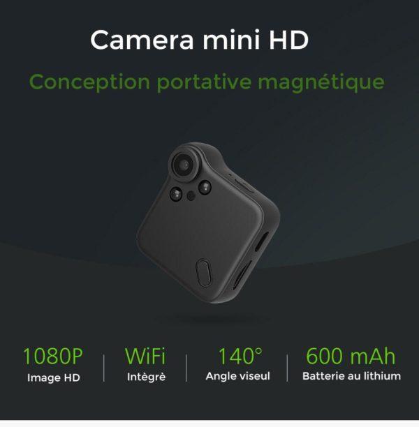 mini camera hd wifi Mini Caméra Wifi, La Meilleure Mini Caméra De Surveillance Wifi Disponible En Ligne