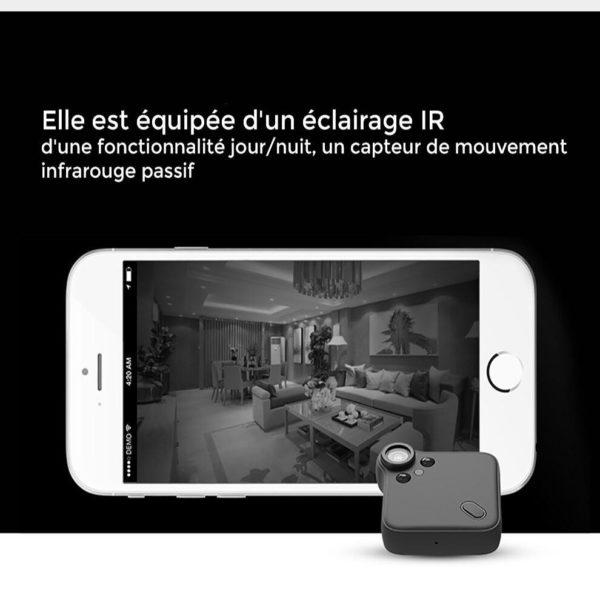 mini camera wifi iphone Mini Caméra Wifi, La Meilleure Mini Caméra De Surveillance Wifi Disponible En Ligne