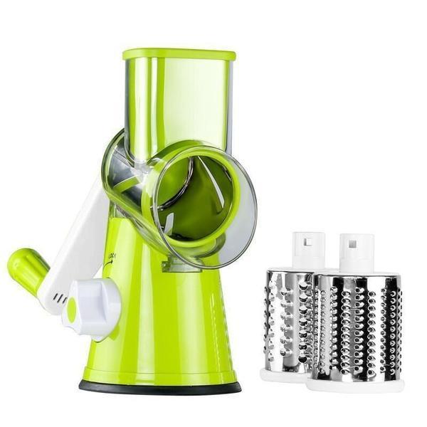 Eminceur Express Multifonctionnel raton-malin Vert