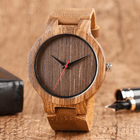 montre en bois Montre En Bois, La Meilleure Montre & Accessoire De Décoration
