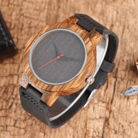 montre en bois artisanale Montre En Bois, La Meilleure Montre & Accessoire De Décoration