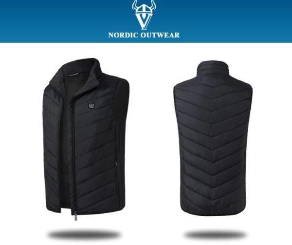 noir 1 Veste Nordic Outwear
