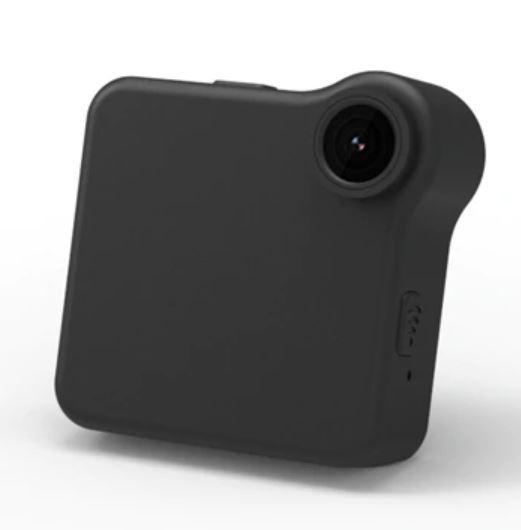 Mini Caméra IP Sans Fil raton-malin Noire (sans carte SD)