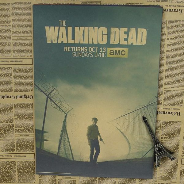 "p11 9f9dfc58 58f5 468d 9a74 bbdc4718fafc Décorations Murales Autocollantes ""The Walking Dead"""