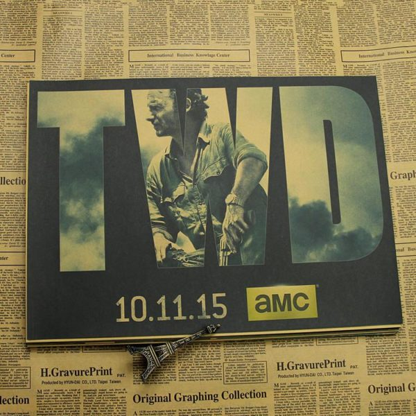 "p16 5aaeb9ee a491 44d1 97ab e719e0b22a5c Décorations Murales Autocollantes ""The Walking Dead"""