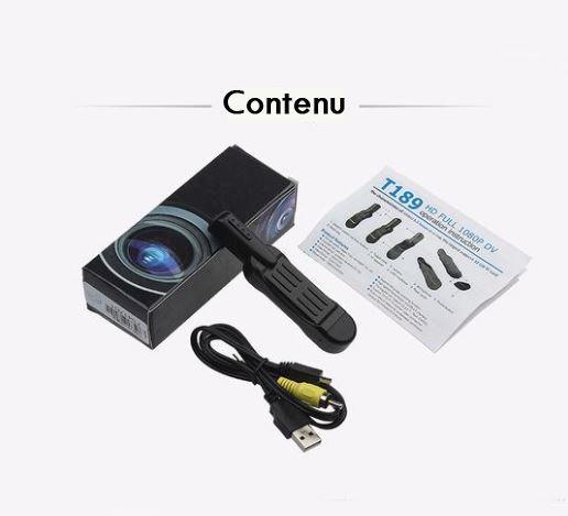 package Mini Camera Stylo