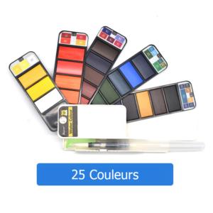 25 couleurs