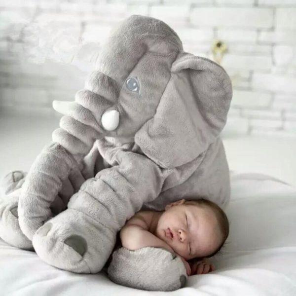 pelucheelephantgeante La Peluche Doudou Éléphant Géante Pour La Chambre De Votre Enfant