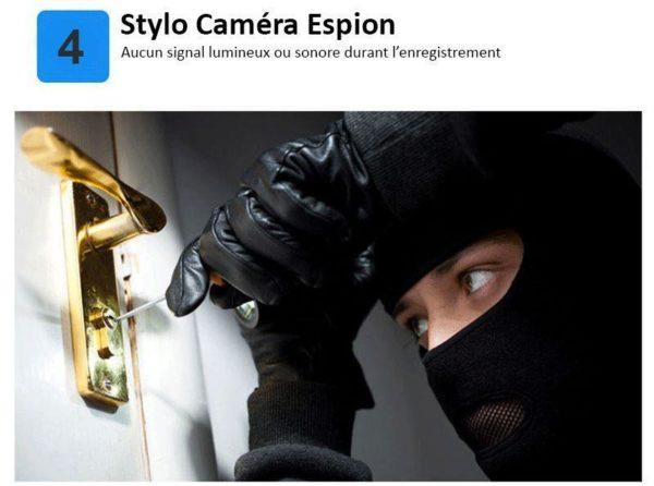 pencam 4 Stylo Caméra De Poche Hd - Recordeasy™