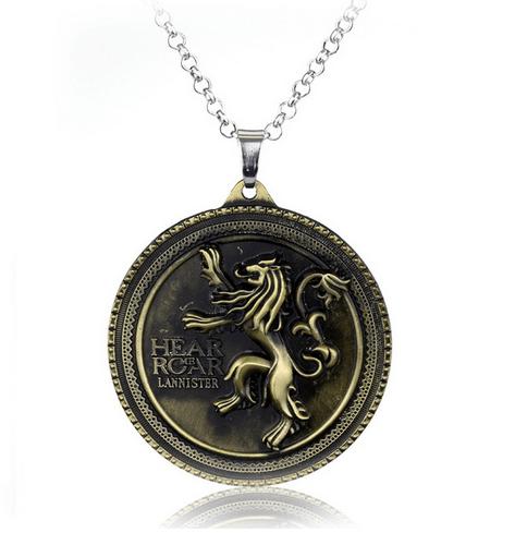 pend8 32a6c532 d8cb 41ca 9115 afbcb2de7be9 Collier Prendentif Game Of Thrones - Maison Lannister