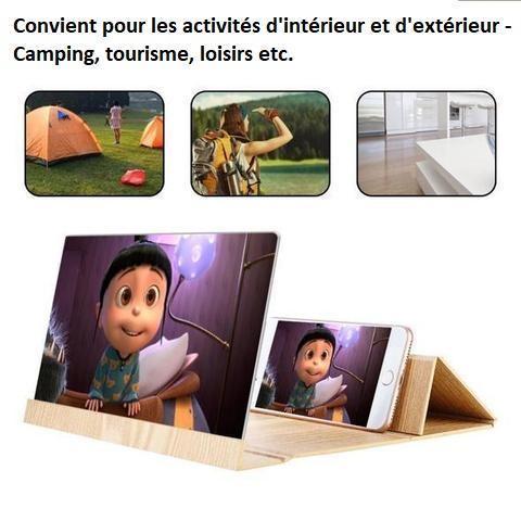 pho3 Loupe D'écran 3D Pour Téléphone Par Lemio™