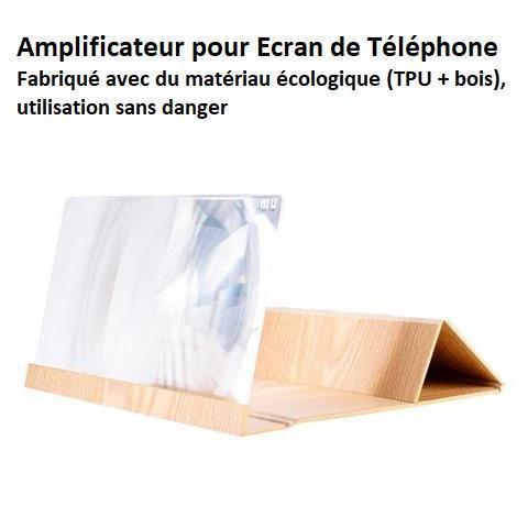 pho5 Loupe D'écran 3D Pour Téléphone Par Lemio™