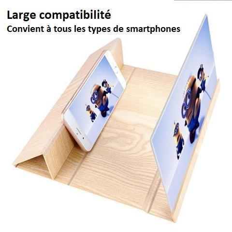 pho6 Loupe D'écran 3D Pour Téléphone Par Lemio™