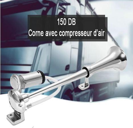 photo Klaxon De Train 150 Db Avec Compresseur D'air