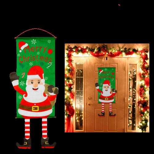 portedecoreenoel 71ab97e8 e6ae 418f b90e fe589b800e12 Bannières De Noël Pour La Décoration De Votre Porche
