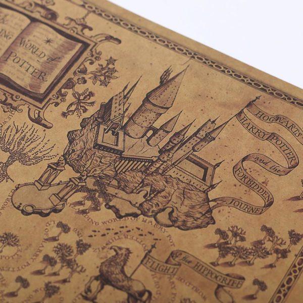 poster4 Carte Du Monde Des Sorciers