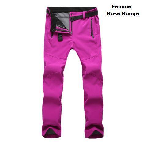 pp14 Pantalon D'hiver Résistant Au Froid