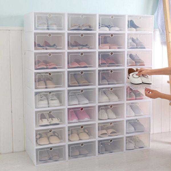 product image 1013948272 Boîtes De Rangement Pour Chaussures (Lot De 3)