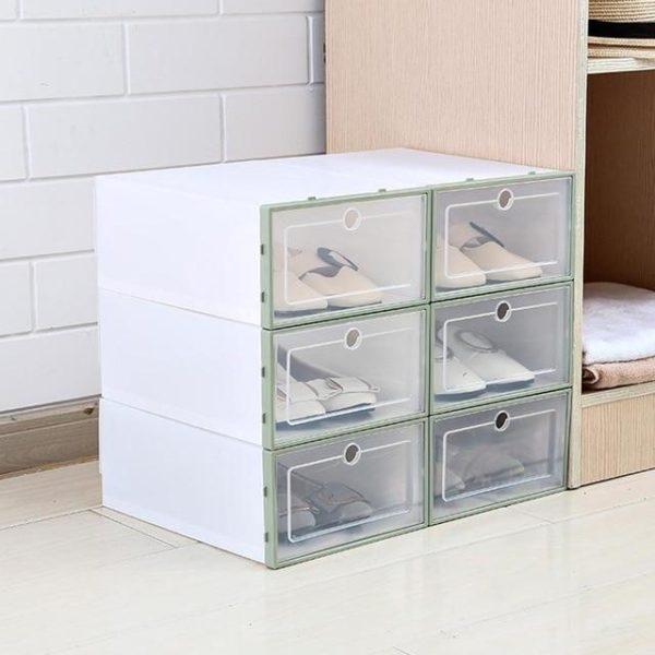 3 Pièces - Boîte De Rangement Pour Chaussures Raton Malin Vert