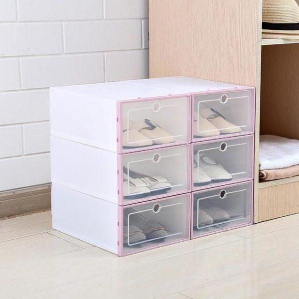 3 Pièces - Boîte De Rangement Pour Chaussures Raton Malin Rose