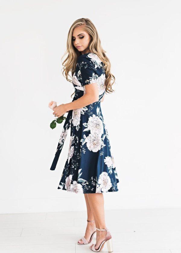 product image 1029092625 Robe Florale Bohémienne