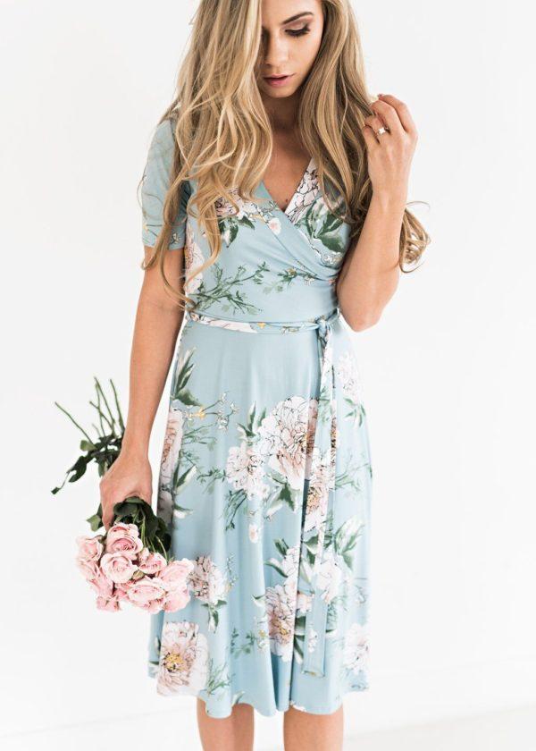 product image 1029092631 Robe Florale Bohémienne